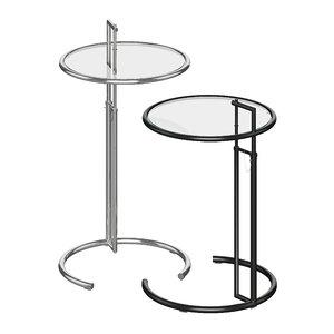 3D model table design e 1027