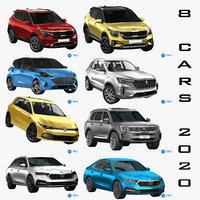 3D 8 cars 2020
