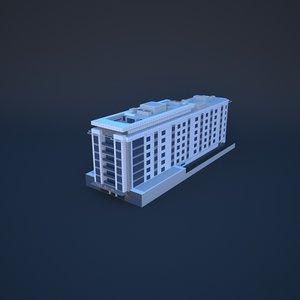3D dubai flora-albarsha-hotel