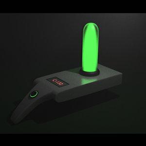 3D rick portal gun