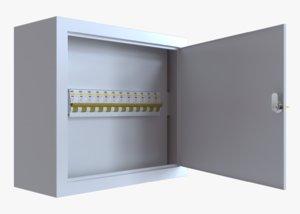 3D switchboard 12 switch model