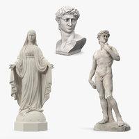 3D stone statue 2