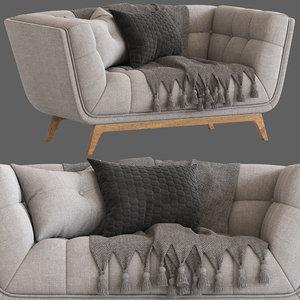 cult furniture magnus 2 seater 3D model