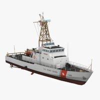 USCGC Island Class Low Poly