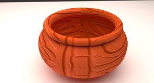 3D pot antique model