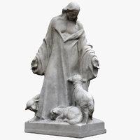 jesus sheeps 3D model