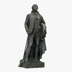 3D washington statue