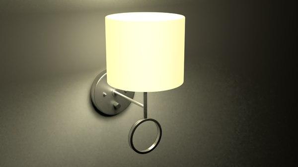 3D amidon wall lamp