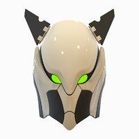 robot head exo b 3D model