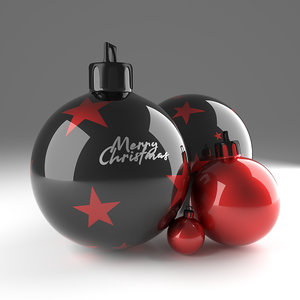 modern ornament ball model