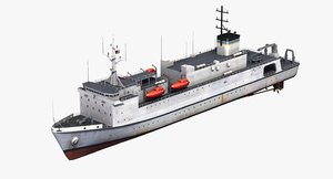 3D usns waters t-ags-45