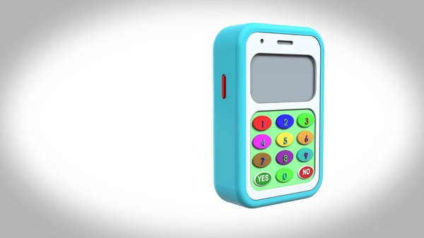 toy phone 3D