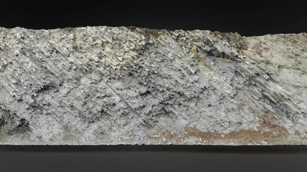 rock scanned 3D