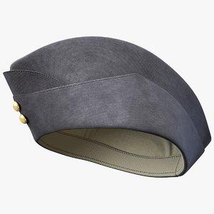 glengary hat 3D model