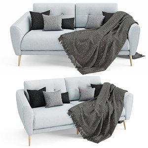 sofa zoe double model