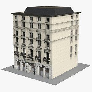 london building regent street model