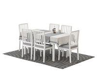 IKEA EKEDALEN, LANEBERG, FASTERHOLT, UPHHETTA Chair and table