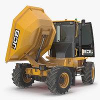 6t-1 cabbed site dumper truck model
