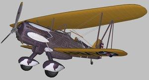 3D airplane model