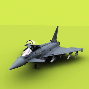 3D euro fighter typhoon