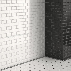 classical wall tile model