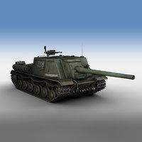 ISU-122 - 336 - Soviet heavy self-propelled gun