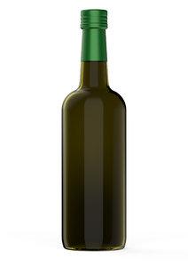 3D model ara olive oil bottle