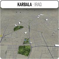 karbala surrounding 3D model