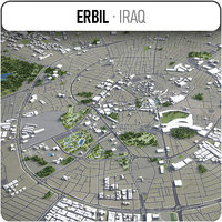 3D erbil surrounding - model