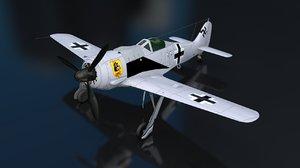 3D focke wulf fw 190