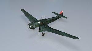 focke wulf 58 b 3D model