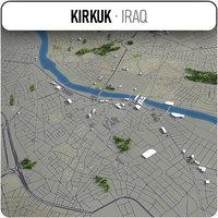 kirkuk surrounding - 3D model