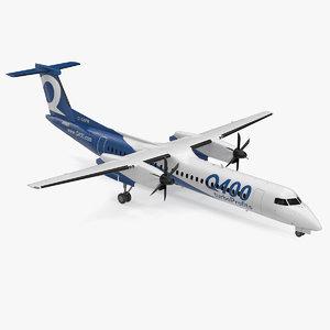 3D model bombardier q400 nextgen passenger