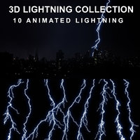 lightning strike 3D