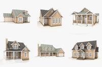 hi-poly cottages vol 15 3D model