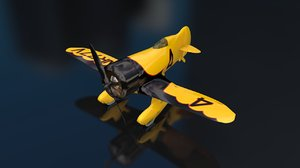 gee bee z racer 3D model