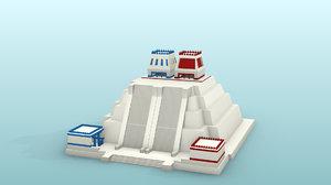 mexico templo mayor 3D