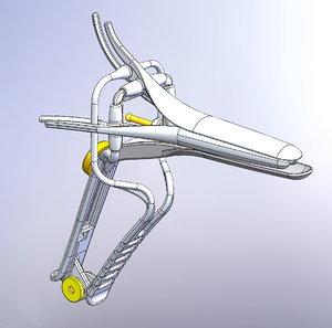 3D medical speculum