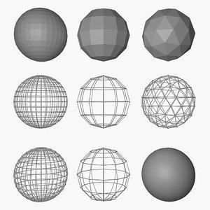 spheres model