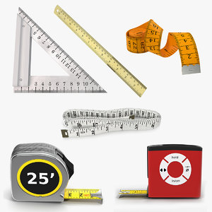 measure tools 4 3D model