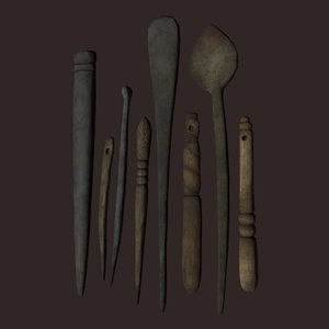 medieval needles scoop model
