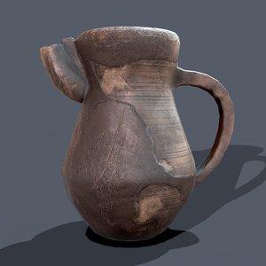 jug medieval 3D