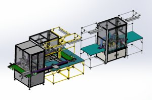 dispensing integrated production line 3D
