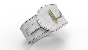 bangle bracelet 3D model
