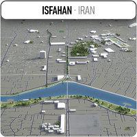 3D isfahan surrounding -