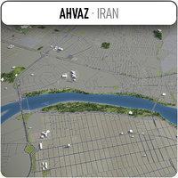 3D ahvaz surrounding -