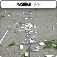 mashhad surrounding - 3D