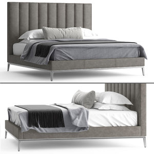 3D italian vertical channel bed model