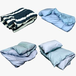 bedclothes bedding 3D model