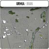 3D urmia surrounding -
